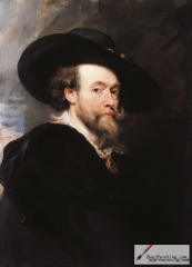 Self-portrait of Peter Paul Rubens
