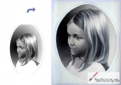 Custom Child Portrait-Girl