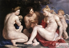 Venus, Cupid, Baccchus and Ceres, 1612