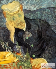 Portrait of Dr. Gachet, 1890, was sold for US$82.5 million in 1990. Private collection