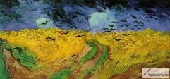 Wheatfield with Crows, 1890, Van Gogh Museum, Amsterdam