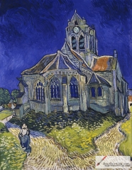 The Church at Auvers, 1890, Musée d'Orsay, Paris
