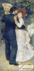 Dance in the Country (Aline Charigot and Paul Lhote), 1883, Musée d'Orsay, Paris