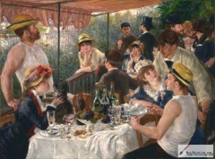 Luncheon of the Boating Party, 1880–1881, The Phillips Collection, Washington, D.C.