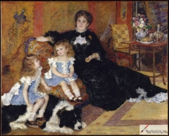 Mme. Charpentier and her children, 1878, Metropolitan Museum of Art, New York