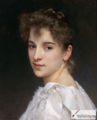 Gabrielle Cot, daughter of Pierre Auguste Cot - 1890