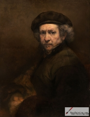Self-Portrait with Beret and Turned-Up Collar (1659), National Gallery of Art, Washington, D.C.