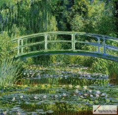 Water Lilies and the Japanese bridge, 1897–99,