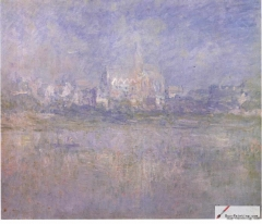 Vétheuil in the Fog, 1879,