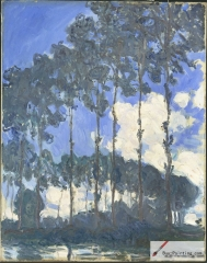 Poplars at the River Epte, 1891 Tate