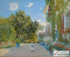 The Artist's house at Argenteuil, 1873,
