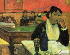 Night Café at Arles, (Mme Ginoux) (1888)