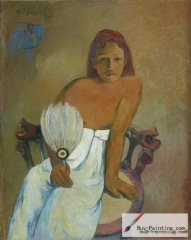 Jeune fille à l'éventail (Young Girl with a Fan), 1902,