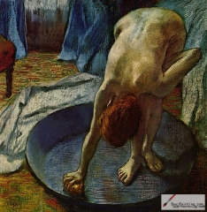 Woman in the Bath, 1886,