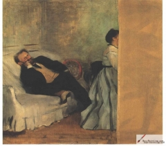 Édouard Manet and Mme. Manet, 1868–1869,
