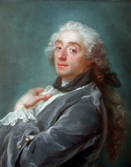 Portrait of François Boucher by Gustaf Lundberg (1741)