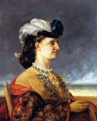 Portrait of Countess Karoly, 1865