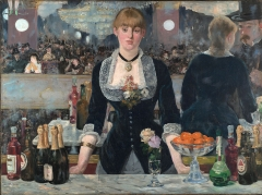 A Bar at the Folies-Bergère (Un Bar aux Folies-Bergère), 1882