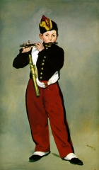 Young Flautist, or The Fifer, 1866