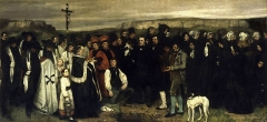 Gustave Courbet, A Burial at Ornans, 1849–50