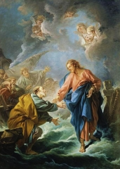 Saint Peter Attempting to Walk on Water, 1766