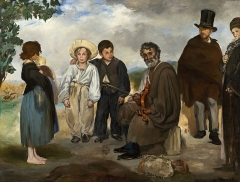 The Old Musician, 1862