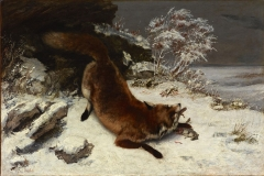 Fox In The Snow, 1860