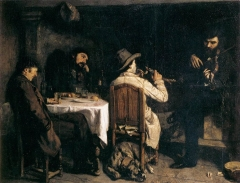 After Dinner at Ornans, 1849