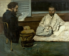 Paul Alexis reading to Émile Zola 1869–1870