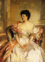 Cora, Countess of Strafford, 1908