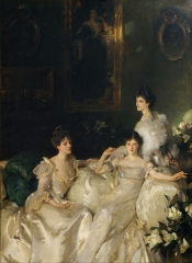 The Wyndham Sisters Lady Elcho, Mrs. Adeane, and Mrs. Tennant, 1899