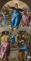 The Assumption of the Virgin ,1577–1579