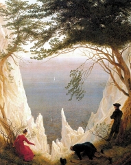 Chalk Cliffs on Rügen (1818)