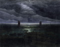 Seashore by Moonlight (1835–36)