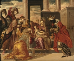 Adoration of the Magi, 1568