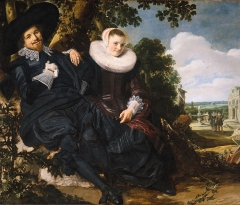 Married Couple in a Garden, 1622