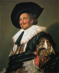 Laughing Cavalier, 1624