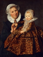 Catharina Hooft with her Nurse, c. 1619-1620