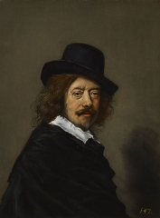 self-portrait by Frans Hals
