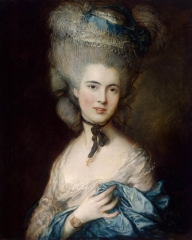 Lady in Blue (c. 1780)