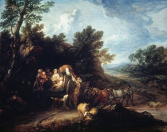 The Harvest Wagon (c. 1784)