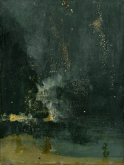 Nocturne in Black and Gold, The Falling Rocket (1874)