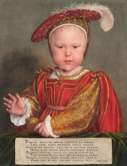 Portrait of Edward VI as a Child, c. 1538