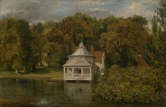 John Constable – The Quarters behind Alresford Hall, 1816