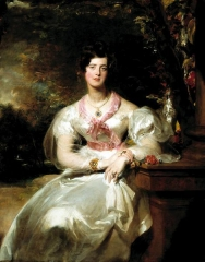 Portrait of the Honorable Mrs. Seymour Bathurst, 1828