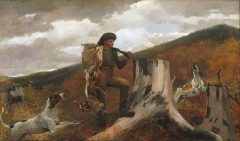 A Huntsman and Dogs, 1891