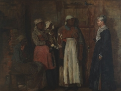 A Visit from the Old Mistress, 1876