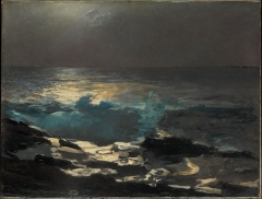 Moonlight, Wood Island Light, 1894