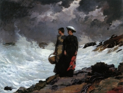 Watching the Breakers, 1891