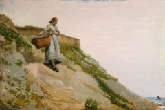 Girl Carrying a Basket, 1882
